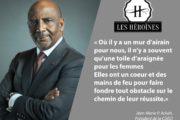 LE PRÉSIDENT JEAN-MARIE ACKAH, MENTOR DU FORUM «LES HÉROÏNES»