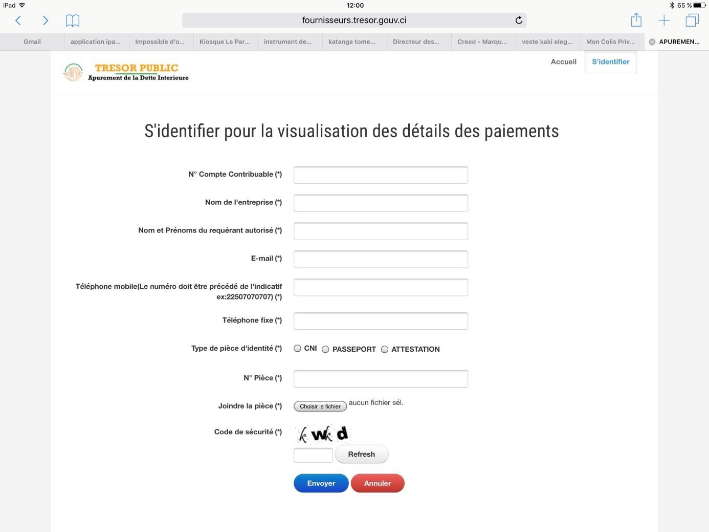 APUREMENT DE LA DETTE INTÉRIEURE : UNE LISTE DES FOURNISSEURS RENDUE PUBLIQUE