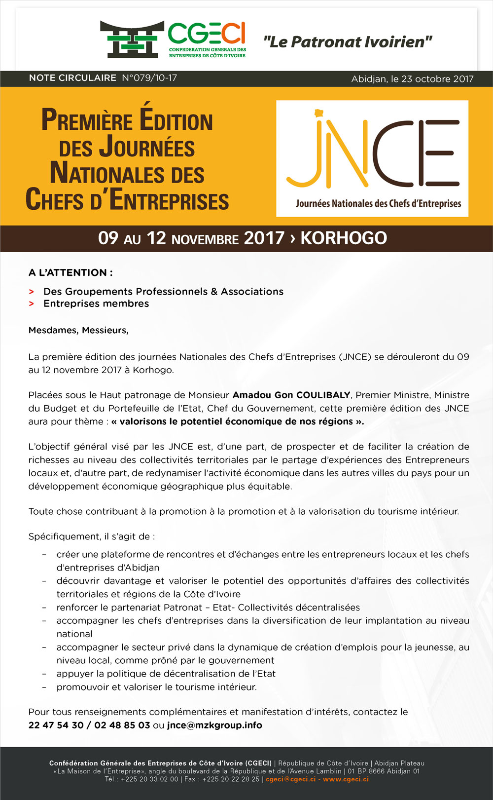 JNCE 2017