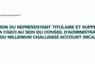 ELECTION  DU REPRÉSENTANT DE LA CGECI ET DE SON SUPPLÉANT AU SEIN DU CONSEIL D'ADMINISTRATION DU MILLÉNIUM CHALLENGE ACCOUNT CÔTE D'IVOIRE