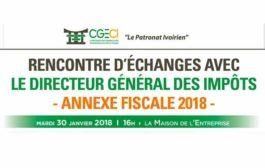 Présentation de l'annexe fiscale 2018