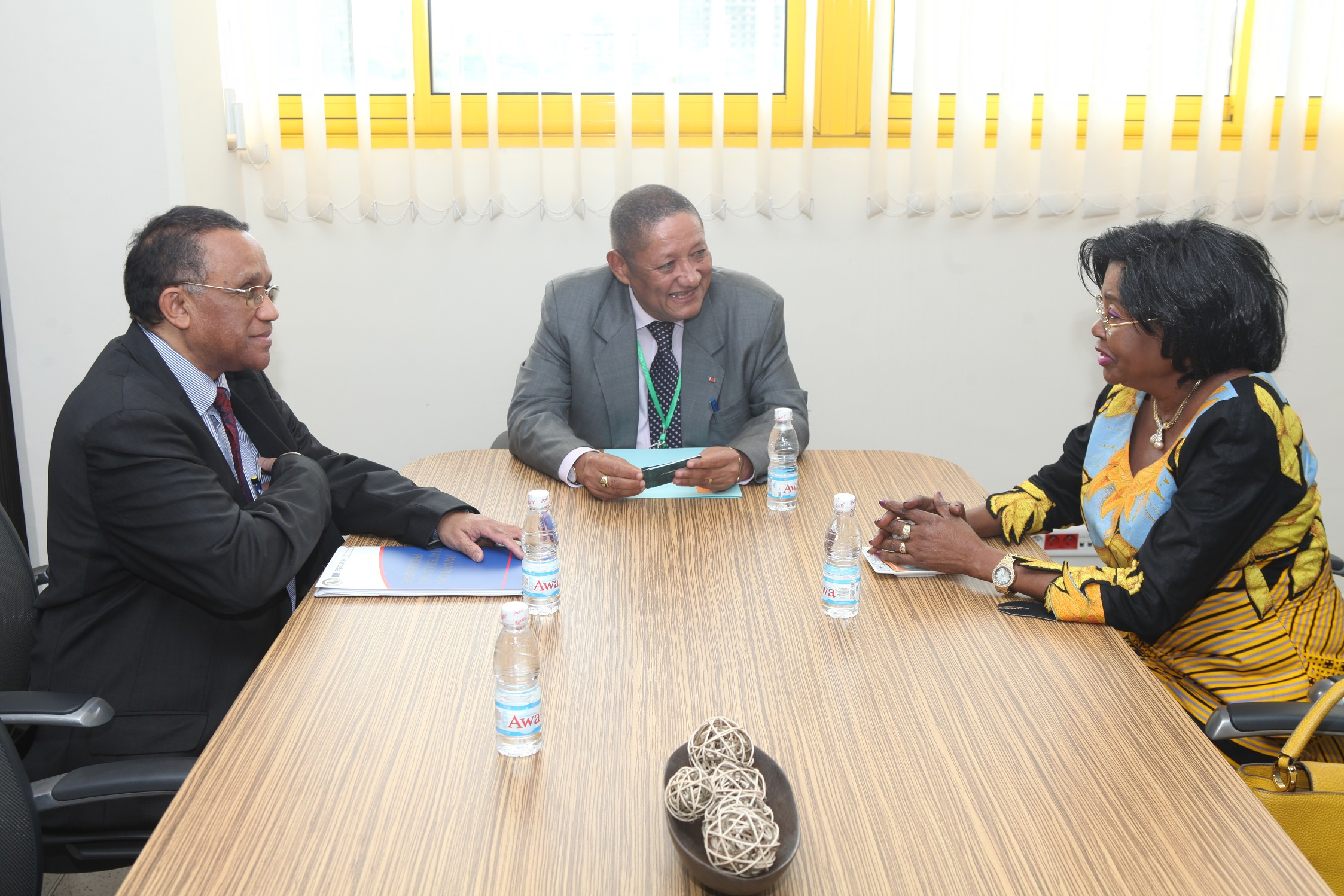 L'Union Africaine se rapproche du secteur privé ivoirien.