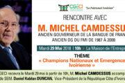 Rencontre avec M. Michel Camdessus