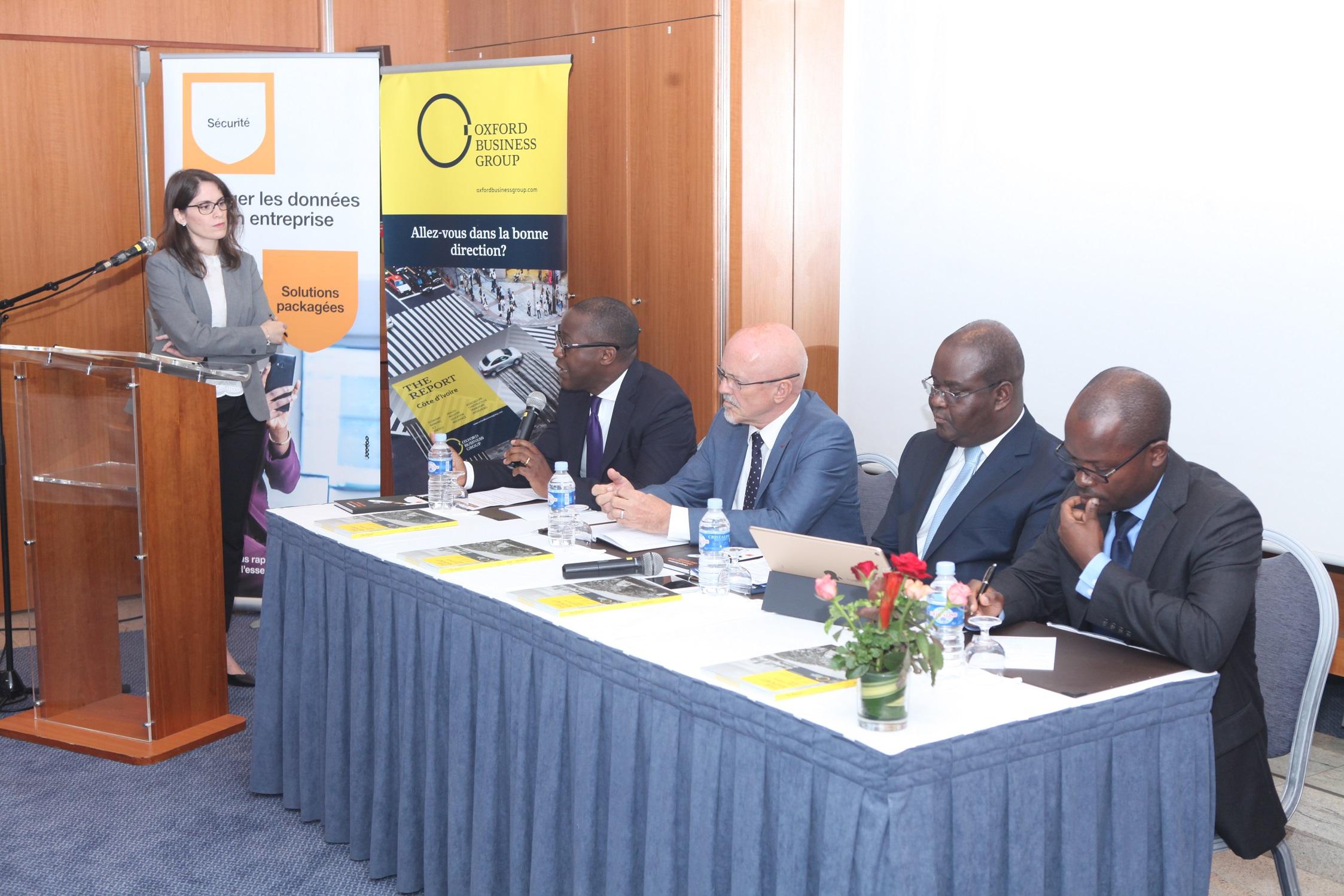 Oxford Business Group publie les résultats de son premier sondage auprès des Présidents Directeurs Généraux  de Côte d'Ivoire