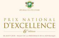 Prix d'excellence 2018