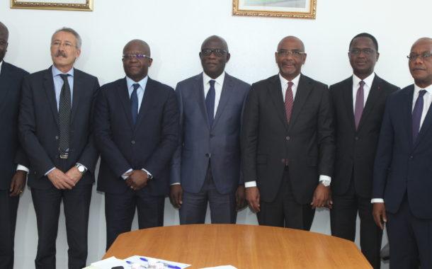 Le Président de la CGECI prend le pool des préoccupations du GPP