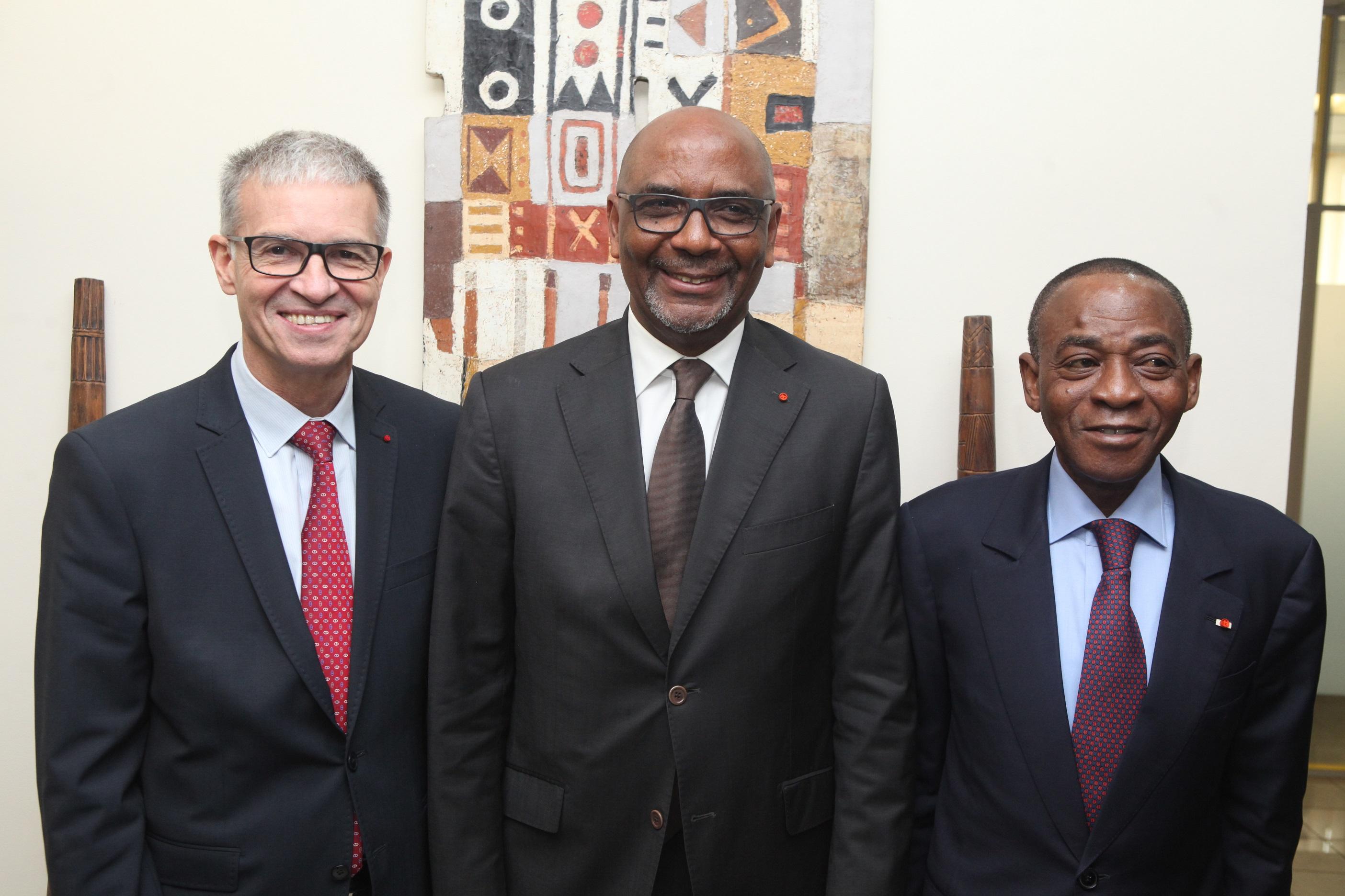 Renforcement de coopération: Les Présidents de Conseil Economique et Social ivoirien et français ont eu une rencontre d'échanges avec la CGECI