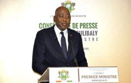 Conférence de presse: Le Premier ministre Amadou Gon Coulibaly explique la politique gouvernementale en matière d'emploi jeune et de protection sociale