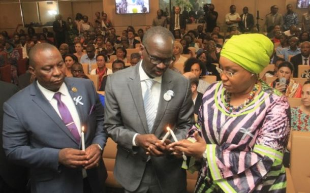 La CGECI  aux côtés du peuple rwandais à l'occasion de la cérémonie commémorative du 25ème anniversaire du génocide contre les Tutsis