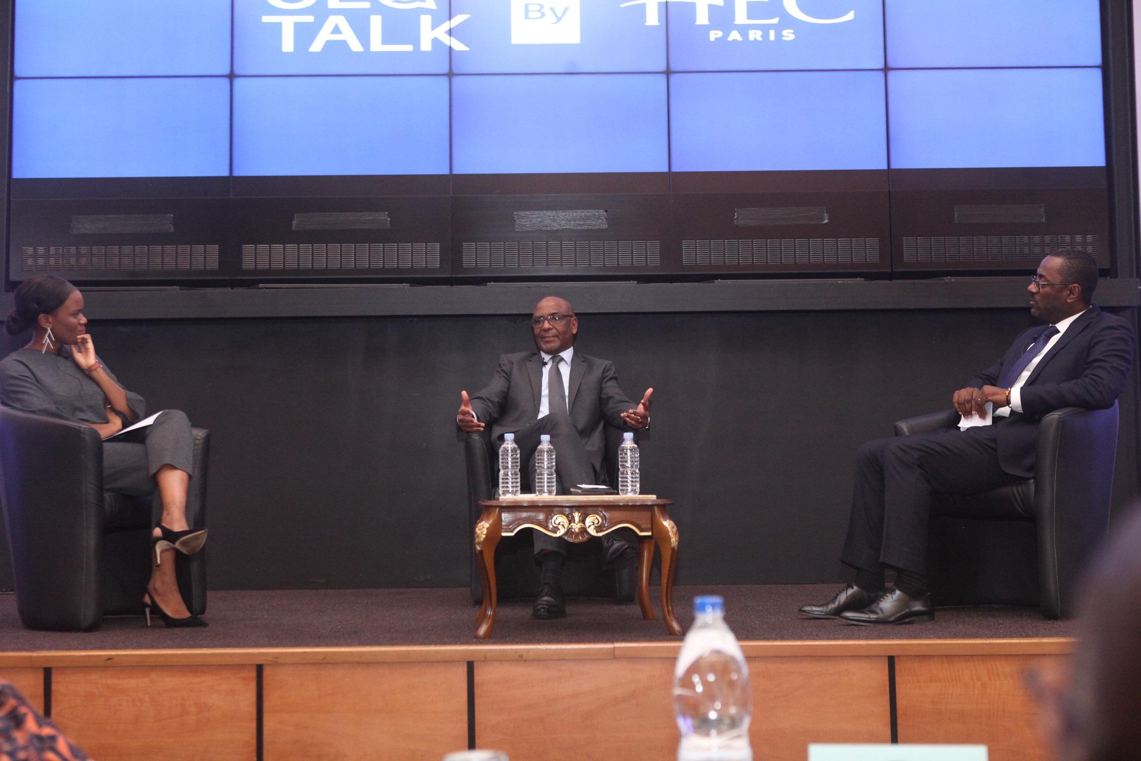 CEO TALK HEC : Le Président du groupe AVOS (SIPRA, LMCI, SARES)  M. Aka Jean-Marie, fait des confidences sur son parcours entrepreneurial et  partage son expérience professionnelle avec de nombreux chefs d'entreprises