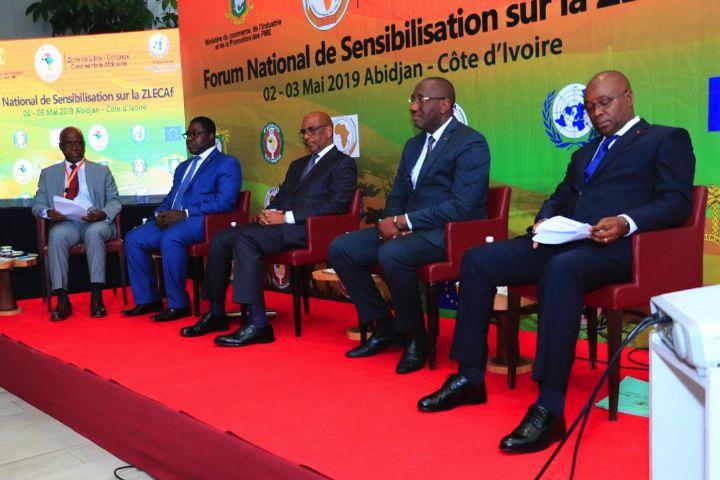 Zone de Libre Echanges Continentale de l'Afrique (ZLECAF) :  Défis et opportunités pour la Côte d'Ivoire