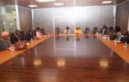 Vie d'entreprises: La Vice-présidente de la CGECI à l'écoute du Collège des petites entreprises