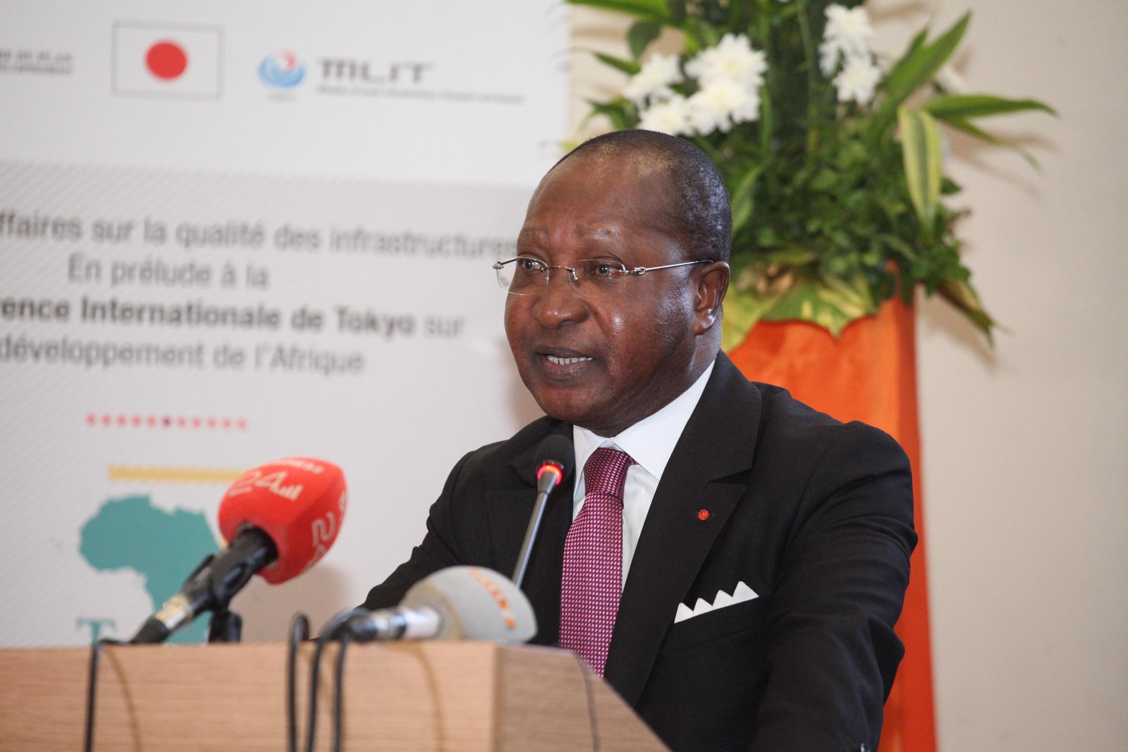 En prélude à la TICAD 7 au Japon : La qualité des infrastructures discutée à Abidjan devant un parterre de personnalités du monde des affaires et politique