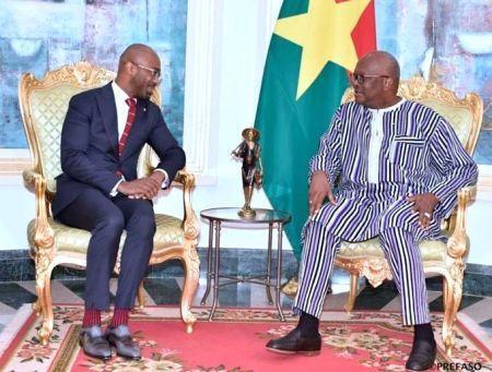 Investissement : Jean-Luc Konan a été reçu par le Président Roch Marc Christian Kaboré, avant le lancement des activités de Cofina à Ouagadougou
