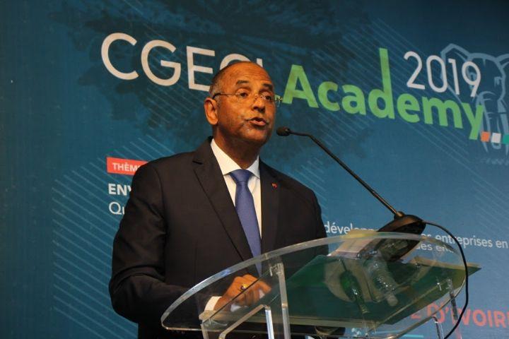 Clôture CGECI Academy 2019: Le représentant du Chef de l'Etat, M. Patrick Achi, annonce un nouveau paradigme dans les relations Secteur public-Secteur privé
