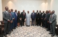 Le Président Jean-Marie Ackah et une délégation de chef d'entreprises ivoiriennes au 1er forum économique Russie-Afrique