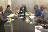 Audience : Le Vice-Président de l'UNEMAF, M. Philippe Eponon, échange avec un émissaire de l'Ambassade sud-africaine, en prélude à la tenue d'une mission économique d'Hommes d'affaires de la Nation arc-en-ciel en Côte d'Ivoire