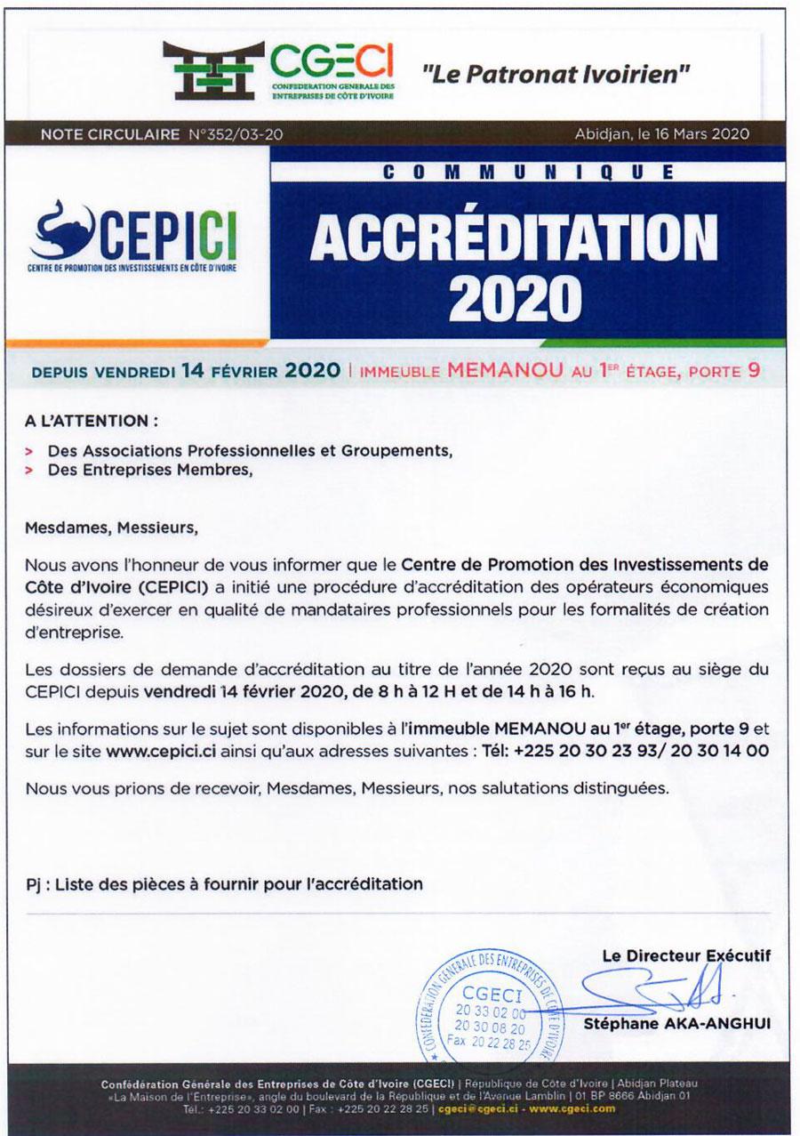 Accreditation 2020