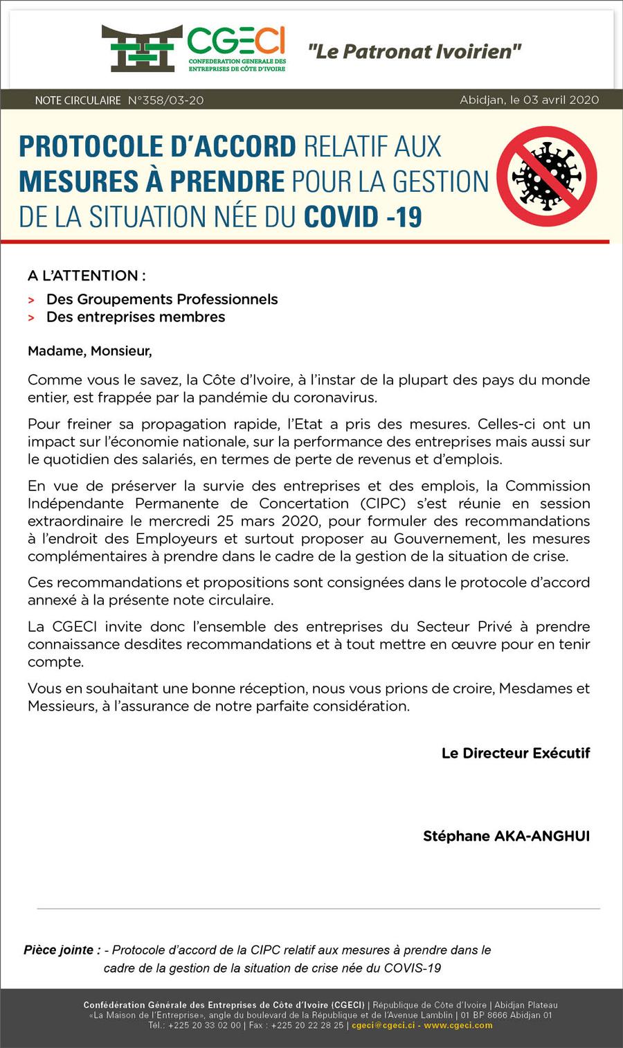 Protocole CIPC