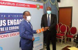 Petro Ivoire apporte son soutien au ministère de la santé