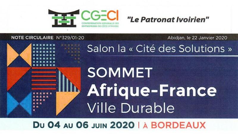 Sommet Afrique franc