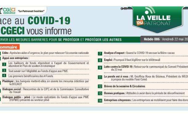 LA VEILLE DU PATRONAT N°006