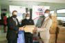 Action sociale: L'équipementier SAME Business S.A fait don d'un important lot de kits sanitaires à l'Institut de cardiologie d'Abidjan et à la CECI par le biais de la CGECI
