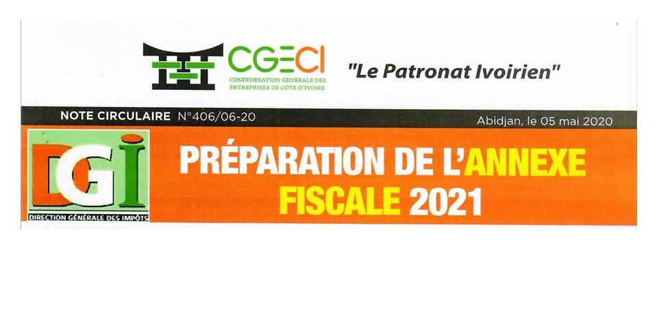 PRÉPARATION ANNEXE FISCALE 2021