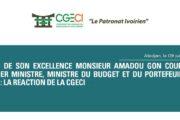 COMMUNIQUE : Décès du PM Amadou Gon Coulibaly