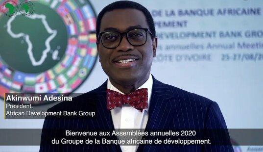 Discours D'ouverture du Dr. Akinwumi A. Adesina, Président de la Banque Africaine de Développement, À L'occasion des Assemblées Annuelles 2020 du Groupe de La Banque Africaine de Développement