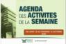 AGENDA DE LA SEMAINE DU 12 AU 16 OCTOBRE 2020