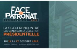 FACE AU PATRONAT: la CGECI rencontre les candidats à l'élection présidentielle 2020