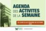 AGENDA DE LA SEMAINE DU 26 AU 30 OCTOBRE 2020