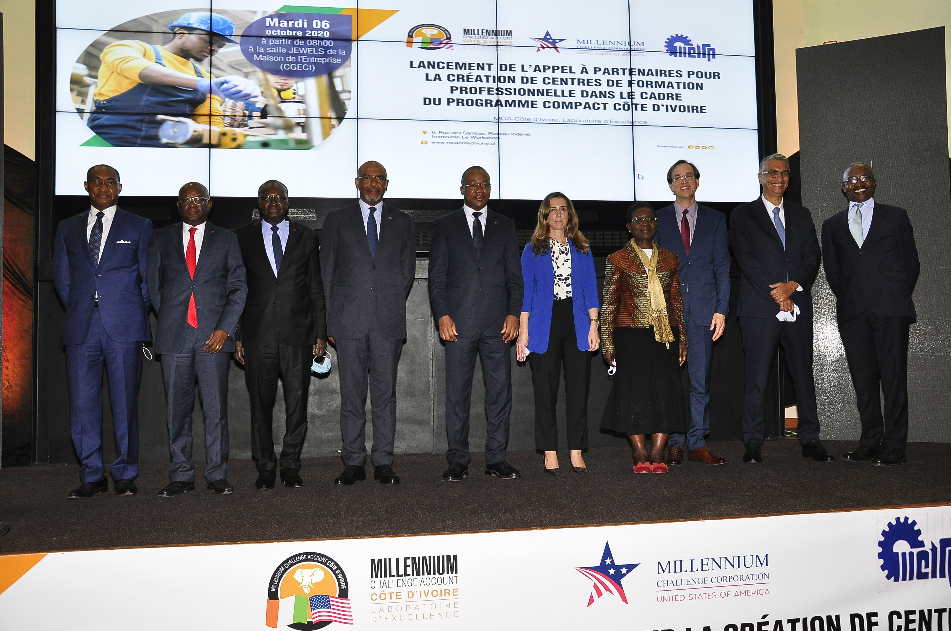 Millenium Challenge Account / La phase de présélection des partenaires privés pour la construction de 4 centres de Formation professionnelle d'un montant de 19 milliards FCFA lancée