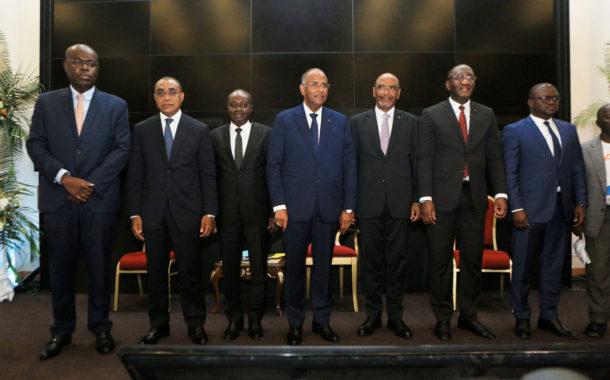 Tribune d'expression « Face au Patronat » : Le candidat du RHDP, Alassane Ouattara vend son programme aux chefs d'entreprise