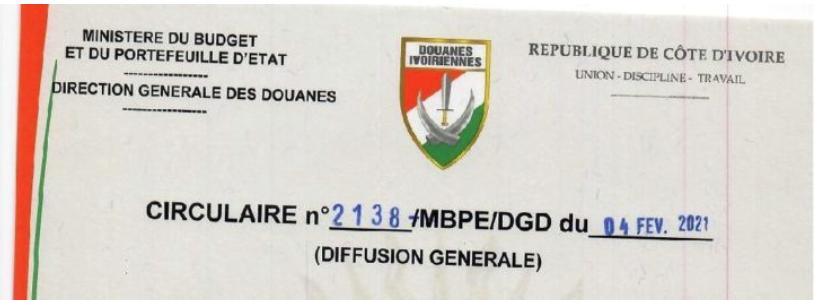 NOUVELLE PROCEDURE DE SAISINE DU COMITE D'ARBITRAGE ET DE LA VALEUR