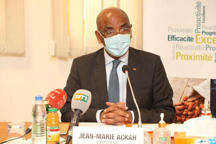 Le Président de la CGECI a présenté ses vœux aux AOP et Présidents de Commissions permanentes