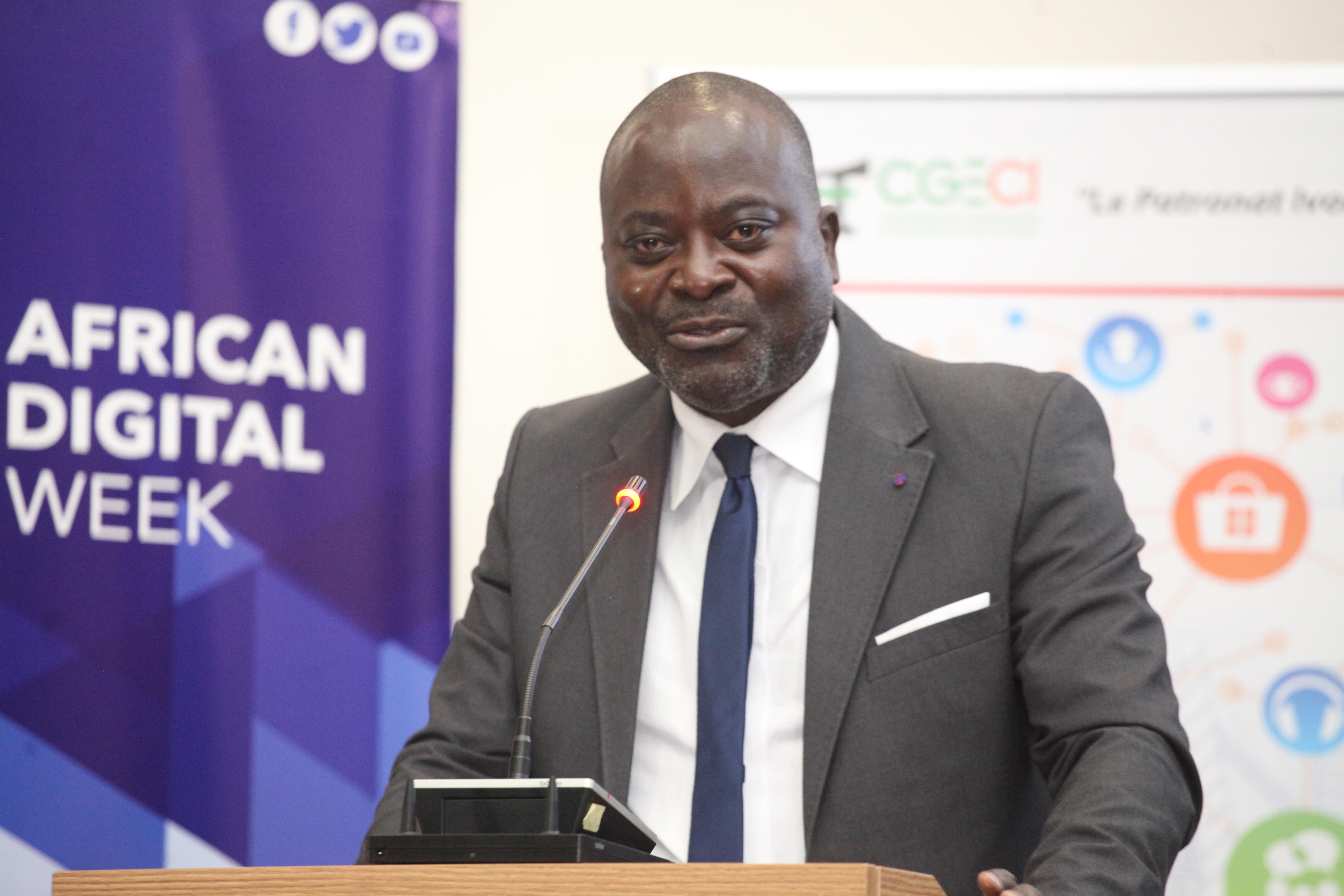 KICK OFF ADW 2021: Allocution de M. Patrick M'BENGUE, Administrateur de la CGECI, Président du GOTIC, Représentant le Président de la CGECI