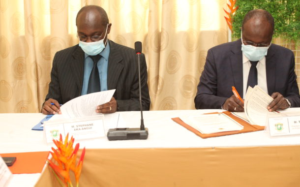 Discours CGECI-Signature Protocole d'entente