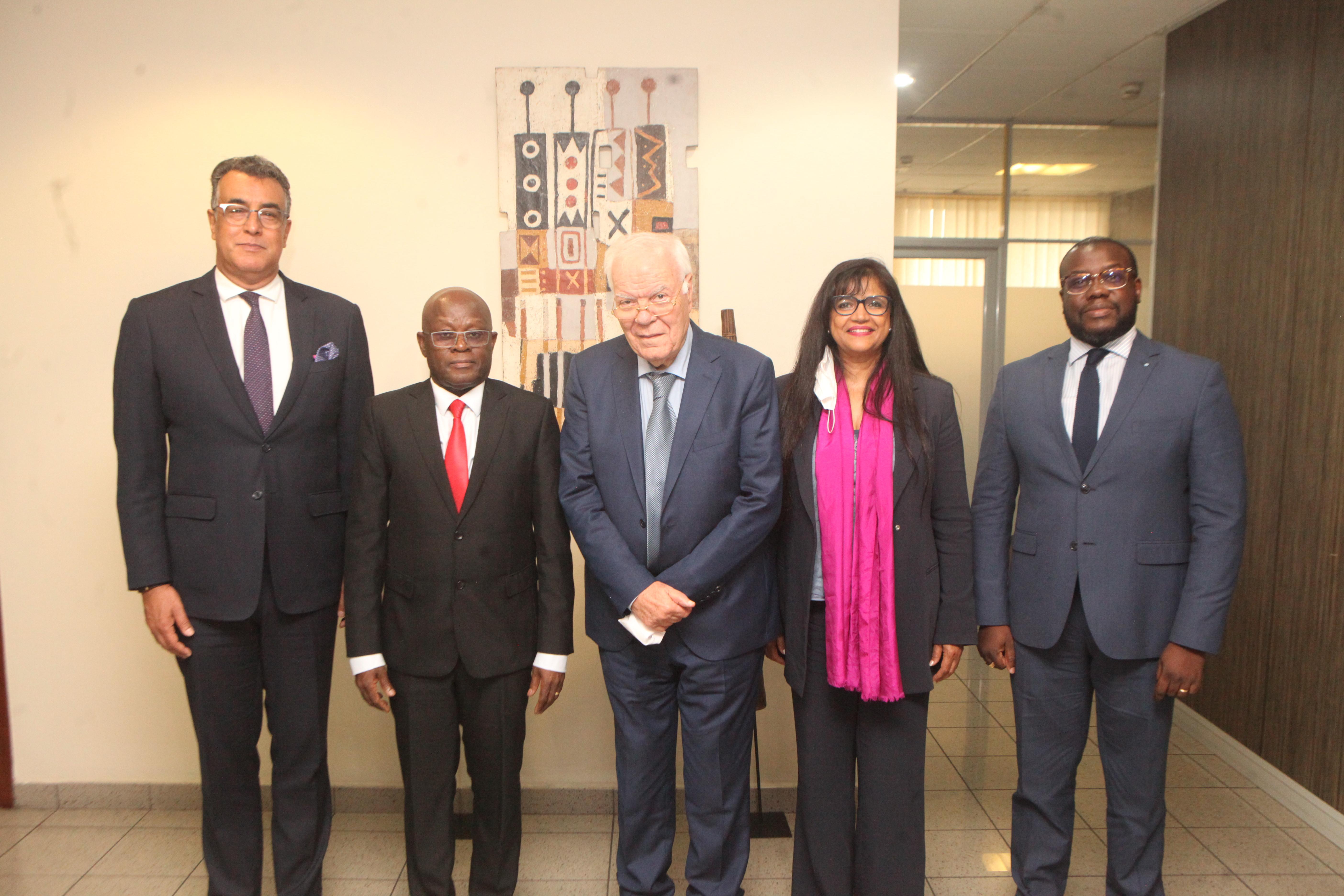 Coopération : L'Ambassade du Maroc et la CGECI étudient les pistes d'investissement