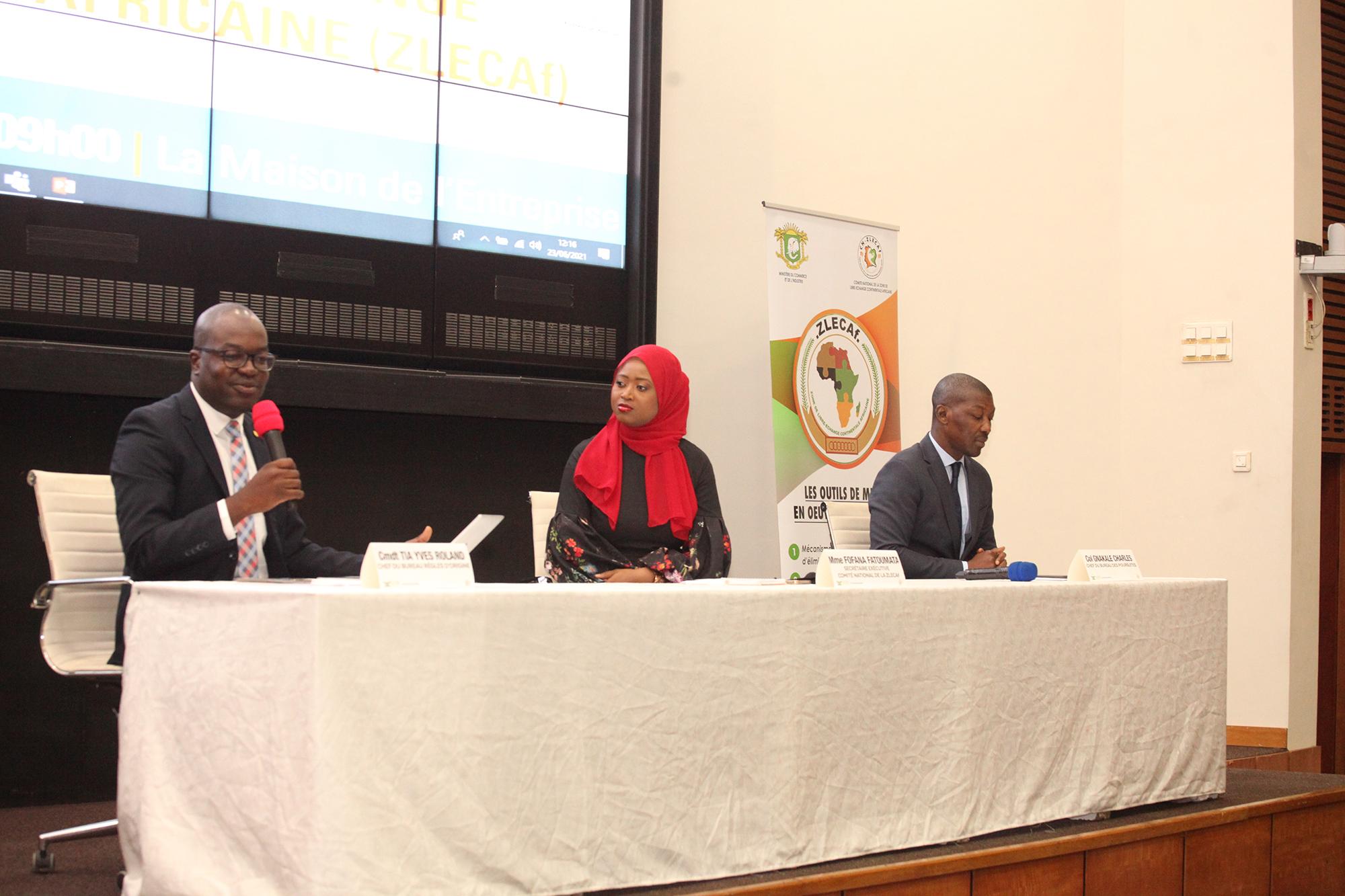 Zone de Libre Echange Continental africaine : Les enjeux et les  opportunités expliqués au Secteur Privé