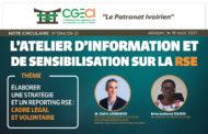 Atelier d'information et de sensibilisation sur la RSE