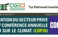 NOTE CIRCULAIRE N°102 - COP26